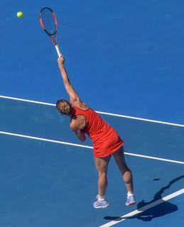 Halep Vs Pliskova - Australian Open Q/F 2018