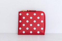 CDG small wallet red polka dot (Bagfetishperson) Tags: commedesgarcons red polkadot wallet smallwallet