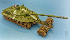 Object279 by Zack Sex (Pla Editions, SL) Tags: tank military army armor armored war modelling plasticmodel weathering tracks kit