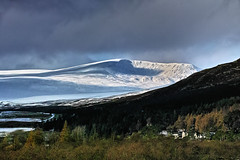 Winter contrasts (Fr Paul Hackett) Tags: winter sunshine snow m mountain clouds