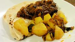 Sri Lanka cooking (Sandy Austin) Tags: sandyaustin panasoniclumixdmcfz70 westauckland auckland northisland newzealand food homecooking potato sambol lamb curry slowcooked