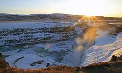 Gullfoss ou la cascade d'or (Emmanuelle2Aime2Ailes) Tags: paysage landscape cascade gullfoss islande iceland 7dwf