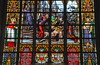 2017 België 0337 Brussel (porochelt) Tags: brussel bbrussel belgië sintmichielsensintgoedelekathedraal glasinlood bleiglasfenster stainedglass vitrail vitral glasmalerei gebrandschilderdglas belgium bélgica belgien belgique brussels bruxelles bruselas brüssel