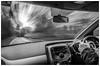 What drive mode? (EddieAC) Tags: car blur intentionalblur drive hands wheel
