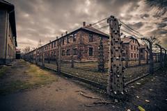 Auschwitz (Vagelis Pikoulas) Tags: poland krakow death camp wires ww2 holaucast 2017 travel memorial history autumn november