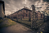 Auschwitz (Vagelis Pikoulas) Tags: poland krakow death camp wires ww2 holaucast 2017 travel memorial history autumn november