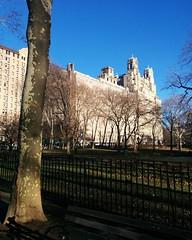 Looking towards The Beresford #newyorkcity #newyork #manhattan #upperwestside #west81st #theberesford #theodorerooseveltpark #latergram (randyfmcdonald) Tags: manhattan latergram theodorerooseveltpark west81st newyorkcity newyork theberesford upperwestside