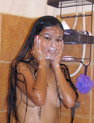Facial (filipinadancingqueen) Tags: shower bath nude wet water soap bubbles panties sexy beautiful hermosa beauty gorgeous pretty lovely attractive cute girl young woman lady female legs hot sensual erotic chicks girls mother mama dancer fashion model asian filipina filipino pinay pinoy philippines brown skin eyes makeup hair slim slender petite small figure shape booty ass bum butt brunette longhair blackhair topless nobra braless breasts nomakeup natural naked