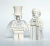 White couple (Vanjey_Lego) Tags: lego minifig minifigs minifigure minifigures white couple