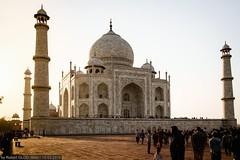 Agra - Taj Mahal (Just before sunset)