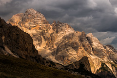 Let there be light (luigig75) Tags: alpi alpes alps dolomiti trentinoaltoadige sunset tramonto clouds mountains montagne italy italia landscape 70200f4l canonef70200mmf4lusm 70d canon