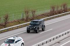G 500 4X4² (Nico K. Photography) Tags: mercedesbenz g500 4x4² supercars suv luxury black nicokphotography switzerland highway