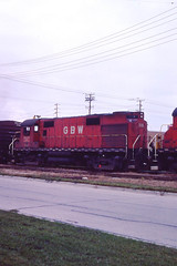 GB&W RS27 #318 in Green Bay WI on 10-10-81 (LE_Irvin) Tags: gbw greenbaywi rs27