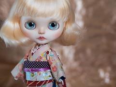 Goody (KeiuDolls) Tags: keiudolls goody girl gogo ooak art custom blythe albino blond