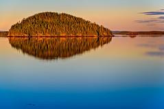 Quiet waters on Dildo Run (Brett of Binnshire) Tags: water hdr dildorunprovincialpark bay lrhdr sunset shoreline locationrecorded scenic lightroomhdr virginarm newfoundland island highdynamicrange canada manipulations
