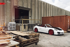 Porsche 991.2 Carrera 4 GTS (anrkywheels) Tags: anrkywheels anrky adv1 hre madeintheusa threepiece forged wheels porsche carrera gts centerlock red bottoms boutique forgiato forgeline custom milledfresh