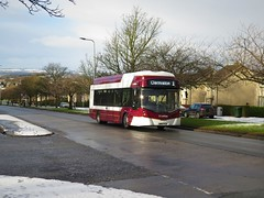 Lothian Buses 289 (SK67FLH) - 19-01-18 (peter_b2008) Tags: lothianbuses edinburgh wright streetair ev electricbus 289 sk67flh buses coaches transport buspictures