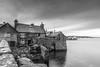 Lodberries, Lerwick (Shetland) (Renate van den Boom) Tags: 11november 2017 architectuur europa grootbrittannië huis jaar longexposure maand mainland renatevandenboom shetland stijltechniek zwartwit