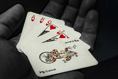 A great hand (AbusimbelP) Tags: cards poker colors joker game