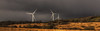 Standing tall in the face of the approaching storm (Mark Wasteney) Tags: telegraphtuesday htt turbine trio three storm rain weather wind moorland northdevon westcountry landscape panoramic photostitch