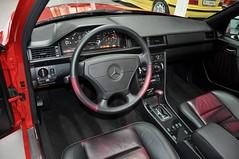 1995 Mercedes E 60 AMG W124 Signaalrood (30) (aganesaganes) Tags: