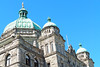 Legislative Assembly of BC, Canada (PDX Bailey) Tags: building architecture sky blue window perspective looking up look canada columbia british bc green gray grey stone