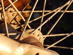 (TheAramet) Tags: photo macro dof metal bike bicycle wheel