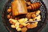 Nuts in a wire basket (Bl.Mtns.Grandma) Tags: inthekitchen nuts nutcracker wire bowl basket