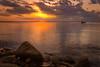 Still Waters (tonesofcolor) Tags: wisconsin usa seascape landscape canon summer sunset water glow lake sunrises sunrise calm calmness boats love rocks lakewinnebago peaceful reflection still sunsets sun clouds dawn morning evening dusk scenery horizon scenic serenity peace fantasticnature