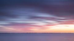 Sugary colors! (karindebruin) Tags: thenetherlands nederland zuidholland hellevoetsluis voorneputten haringvliet water sunset zonsondergang leefilters littlestopper nd06hardgrad