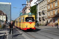 Der Umweltverbund (trainspotter64) Tags: strasenbahn tramway tram tramwaje tramvaj streetcar stadtbahn karlsruhe dwm gt8 lightrail kvg waggonunion