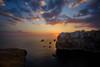 Amazing Sky (Massetti Fabrizio) Tags: sunrise sun sunlight sunset phaseone panorami polignano gargano puglia italia italy nikond700 15mmais red rural rosso rocks