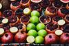 Vitamins (petrovicka95) Tags: vitamins fruit nar apple red green street market nikon turkey colors day frame