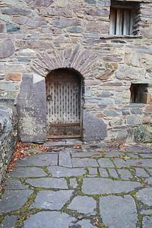 Garreg Fawr - door detail