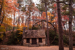 Memories of fall. . . HWW (Irina1010) Tags: autumn fall colors foliage mill berrycollege oldmill building windows door canon outstandingromanianphotographers