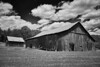 Old Farm on Old Lane's Trace Ohio - DSC06462 (j_m_kubler) Tags: sonyrx1 c1 captureonepro kentucky barns oldbarn bw ruralamerica farms clouds zanetrace treberinn oldlanestrace