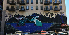 Ghost Deer by Marina Zumi (wiredforlego) Tags: graffiti mural streetart publicart chicago illinois ord wabashartscorridor marinazumi aerosolart