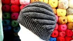2018.01.17. Knitted hat Katia Concept Cotton Merino (villanne123) Tags: knitting hat 2018 myssyt pipo neulottu katiaconceptcottonmerino villanne kierrepipo