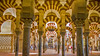 Cordoba (Hans van der Boom) Tags: vacation holiday spain andalucia cordoba mezquite colum arches islamic people interior mosque cathedral lamp es