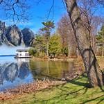 Orillia Ontario Canada ~ Leacock Museum ~ Boat House ~  Fantasy  Photo thumbnail