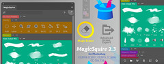 MagicSquire lets turn brushes into erasers in Photoshop (colorwheels) Tags: magicsquire brush organizer folders sets magiceraser panel extension plugin cs5 cs6 cc cc2014 cc2015 cc2017 cc2018 photoshop adobe plugins photoshopplugins brushes tool presets creative cloud manager export tpl abr tips tricks update software screenshot