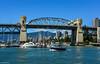 Burrard Street Bridge - False Creek (SonjaPetersonPh♡tography) Tags: vancouver falsecreek falsecreekferries burrardstreetbridge burrardinlet bc canada nikon nikond5200 summer 2017 inlet water vancouverharbour vancouverskyline boats marina bridge