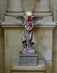 Paint Pot Angel (Biggsy . . .) Tags: paintpot angel banksy bristolmuseum