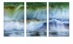 Déferlement (Briren22) Tags: vague mer vent rouleaux vert bleu eau