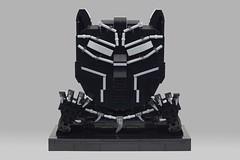 Black Panther (BrickinNick) Tags: lego black panther movie portrait moc build timelapse creation twitch brickbuilding character