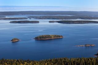 Lake Pielinen from Ukko-Koli