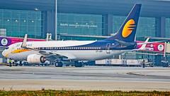 Jet Airways Boeing B737-800 VT-JFP Bangalore (BLR/VOBL) (Aiel) Tags: jetairways boeing b737 b737800 vtjfp bangalore bengaluru canon60d tamron70300vc