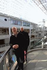 Chris and Joe in the Bentall Centre (ec1jack) Tags: bentallcentre shopping centre kingston bushey park london england britain uk europe winter cold nature kierankelly canoneos600d ec1jack