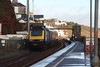 43063 Dawlish, Devon (Paul Emma) Tags: uk england dawlish devon railway railroad dieseltrain train sea coast beach hst 43063