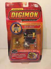 Set 54 (CoolToys2000) Tags: digimon mini figure set sets 53 54 55 frontier 2002